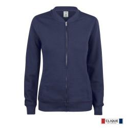 Sudadera Clique Premium OC Cardigan Ladies 021007-580