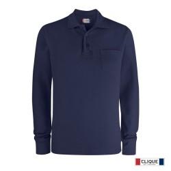 Basic Polo LS Pocket 028235-580