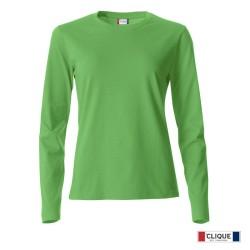 Camiseta Clique Basic-T LS Ladies 029034-605