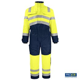 6202 COVERALL PADDED EN ISO 20471 CLASE 3