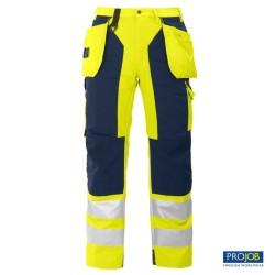 Pantalón alta visibilidad Projob 646506-10