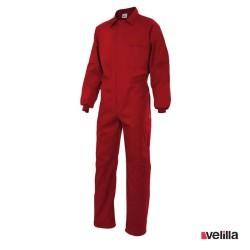 Mono de trabajo Velilla Ref. 214 - Rojo