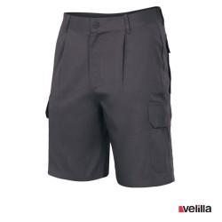 Bermuda multibolsillos Velilla Ref. 344 - Negro