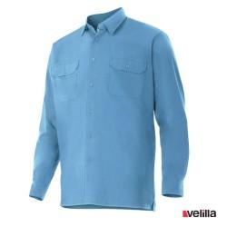Camisa manga larga Velilla Ref. 520 - Celeste