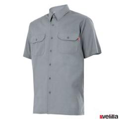Camisa manga corta Velilla Ref. 522 - Gris