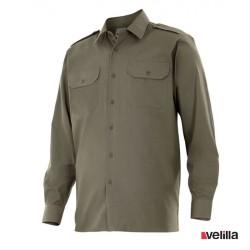 Camisa manga larga Velilla Ref. 530 - Verde caza