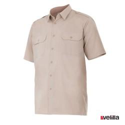 Camisa manga corta Velilla Ref. 532 - Beige