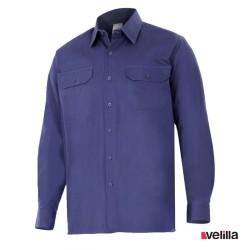 Camisa algodón manga larga Velilla Ref. 533