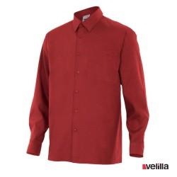 Camisa manga larga Velilla Ref. 529 - Granate