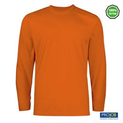 Camiseta manga larga Projob Ref. 2017 - Naranja
